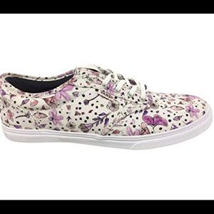 Women's Vans Size 7.5 Atwood Lilac Flower